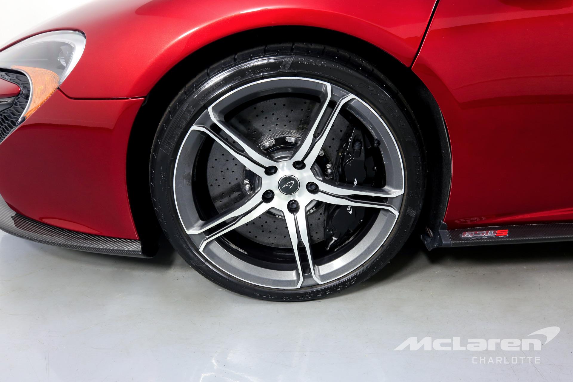 Used 2015 McLaren 650S Spider Base | Charlotte, NC