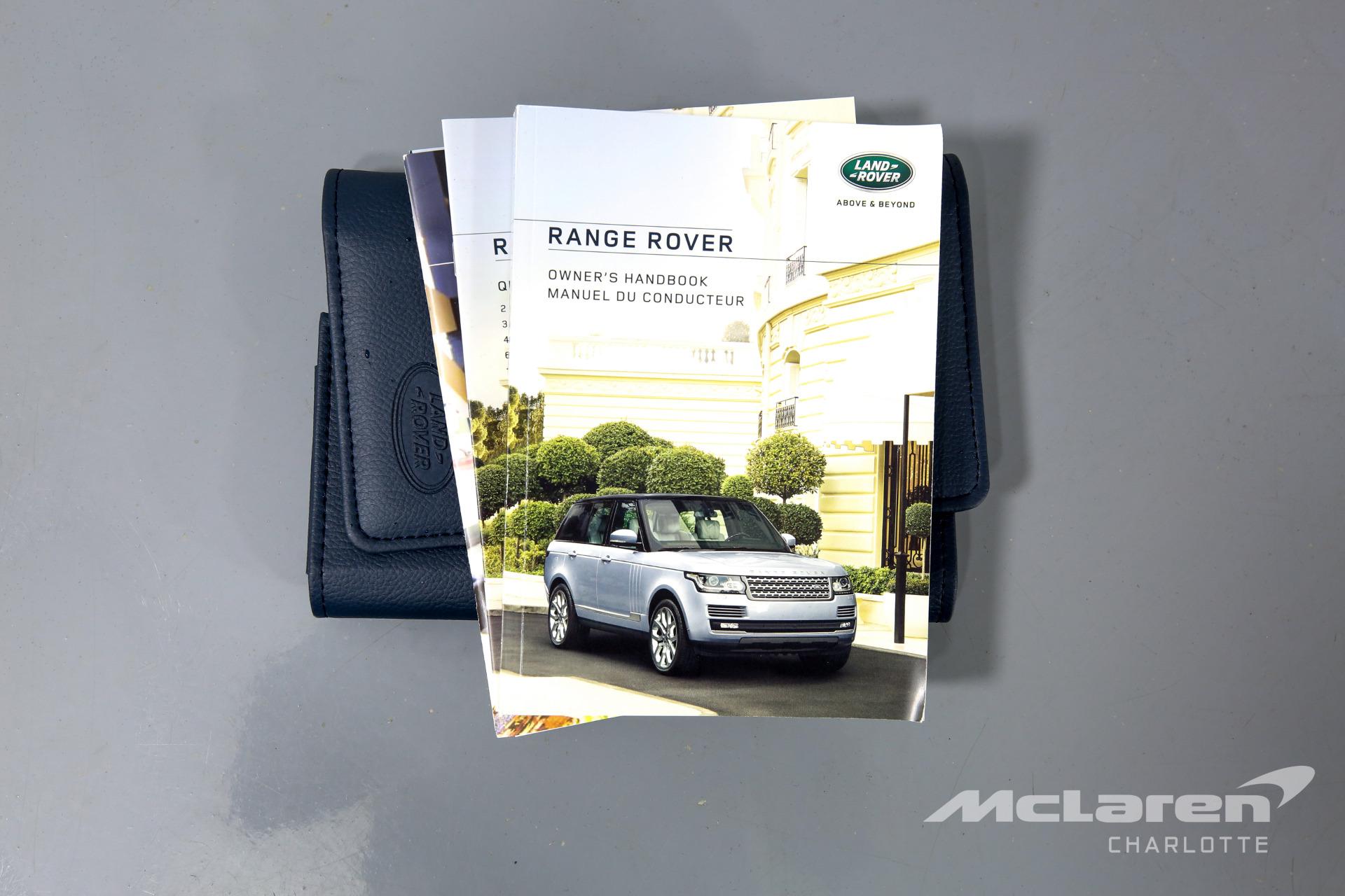 Used 2016 Land Rover Range Rover SVAutobiography LWB | Charlotte, NC