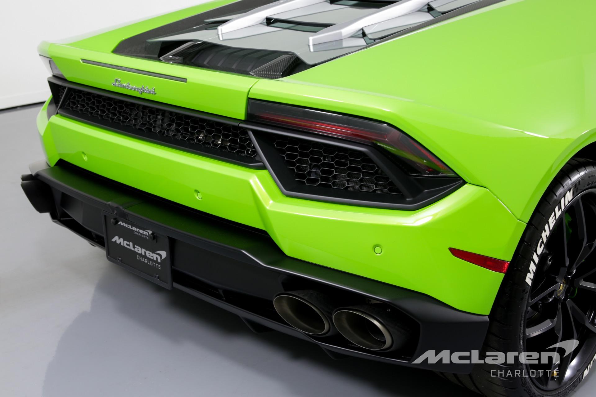 Used 2018 Lamborghini Huracan Lp 580 2 For Sale 204 996 Mclaren