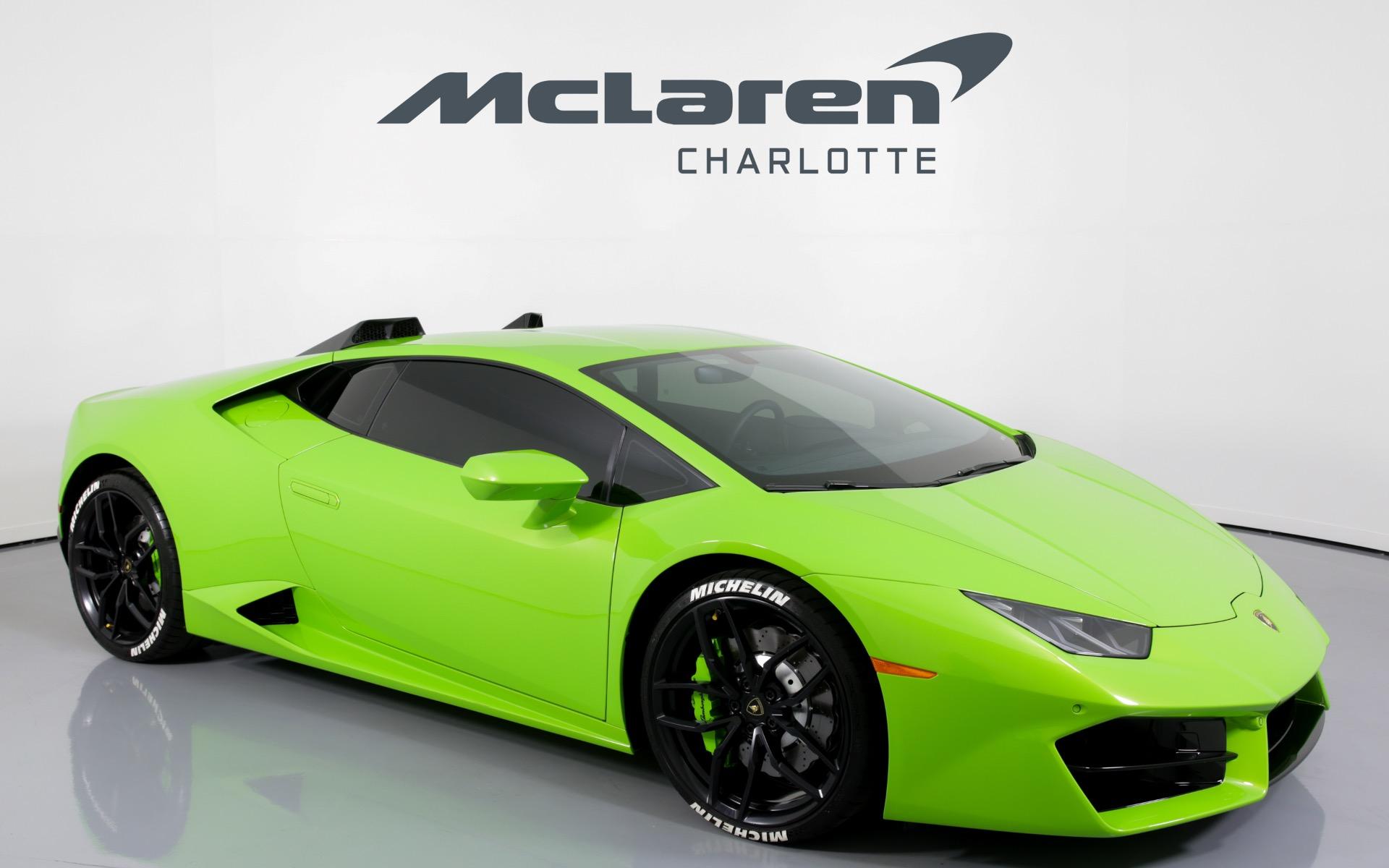 Used 2018 Lamborghini Huracan Lp 580 2 For Sale 209 996 Mclaren