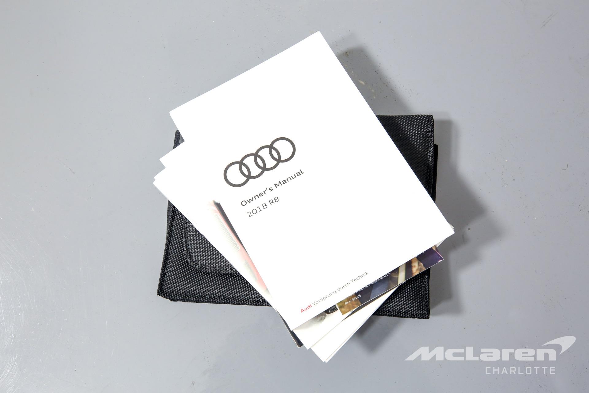 Used 2018 Audi R8 5.2 quattro V10 Spyder   Charlotte, NC