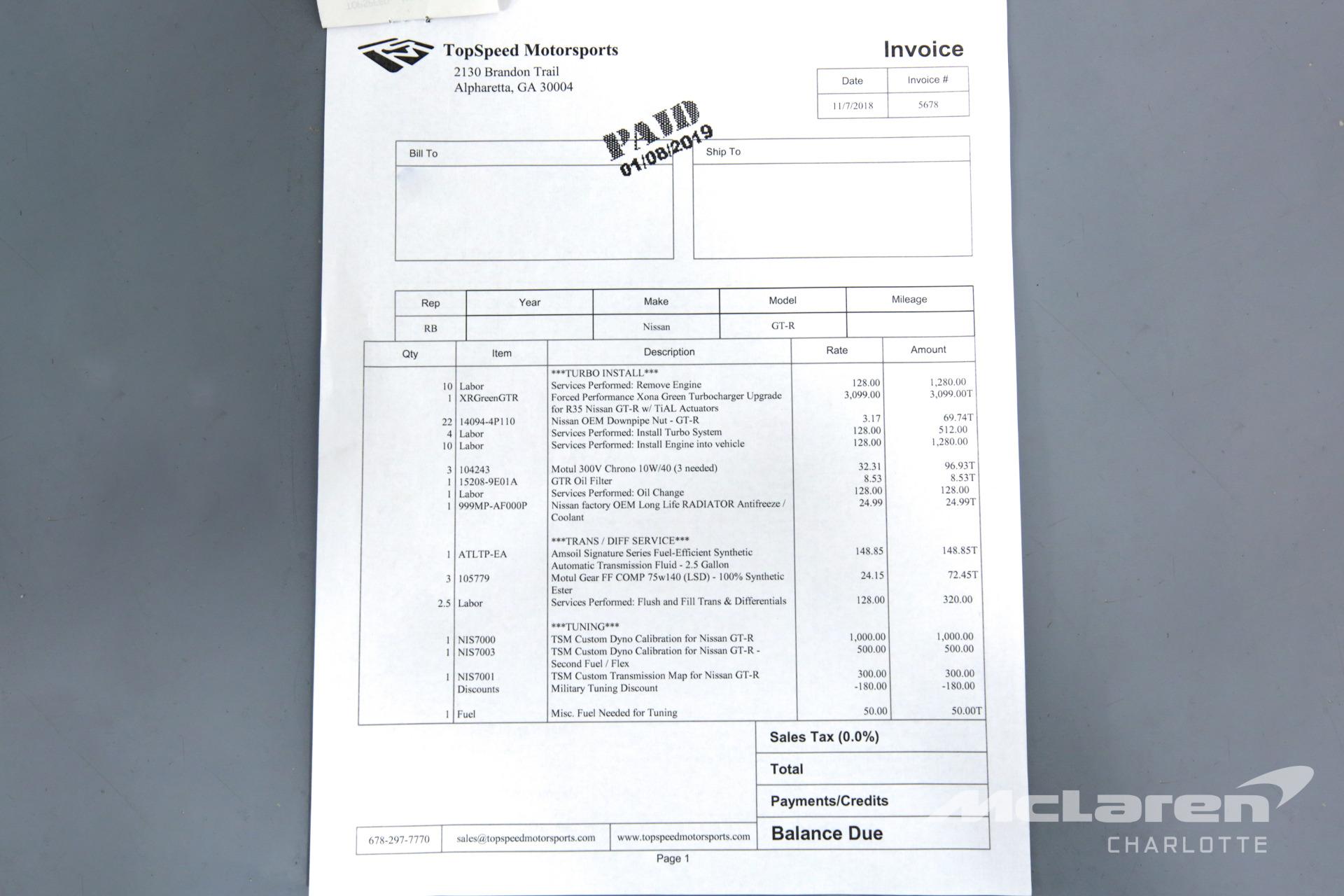 Used 2015 Nissan GT-R Premium   Charlotte, NC