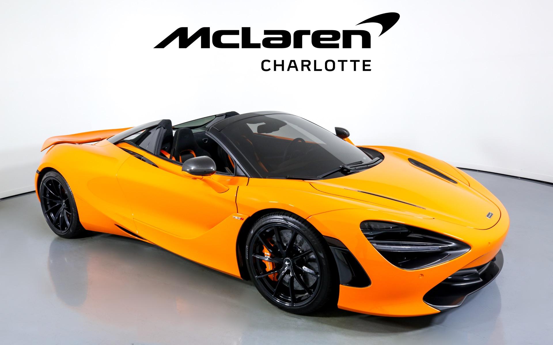Used 2021 McLaren 720S Spider Performance   Charlotte, NC