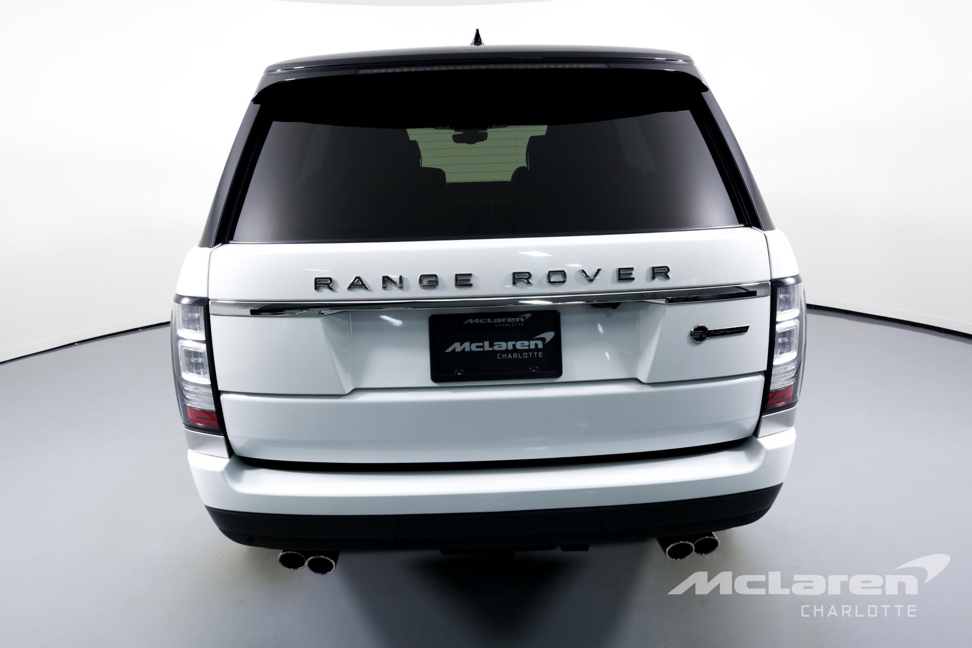 Used 2017 Land Rover Range Rover SVAutobiography LWB | Charlotte, NC