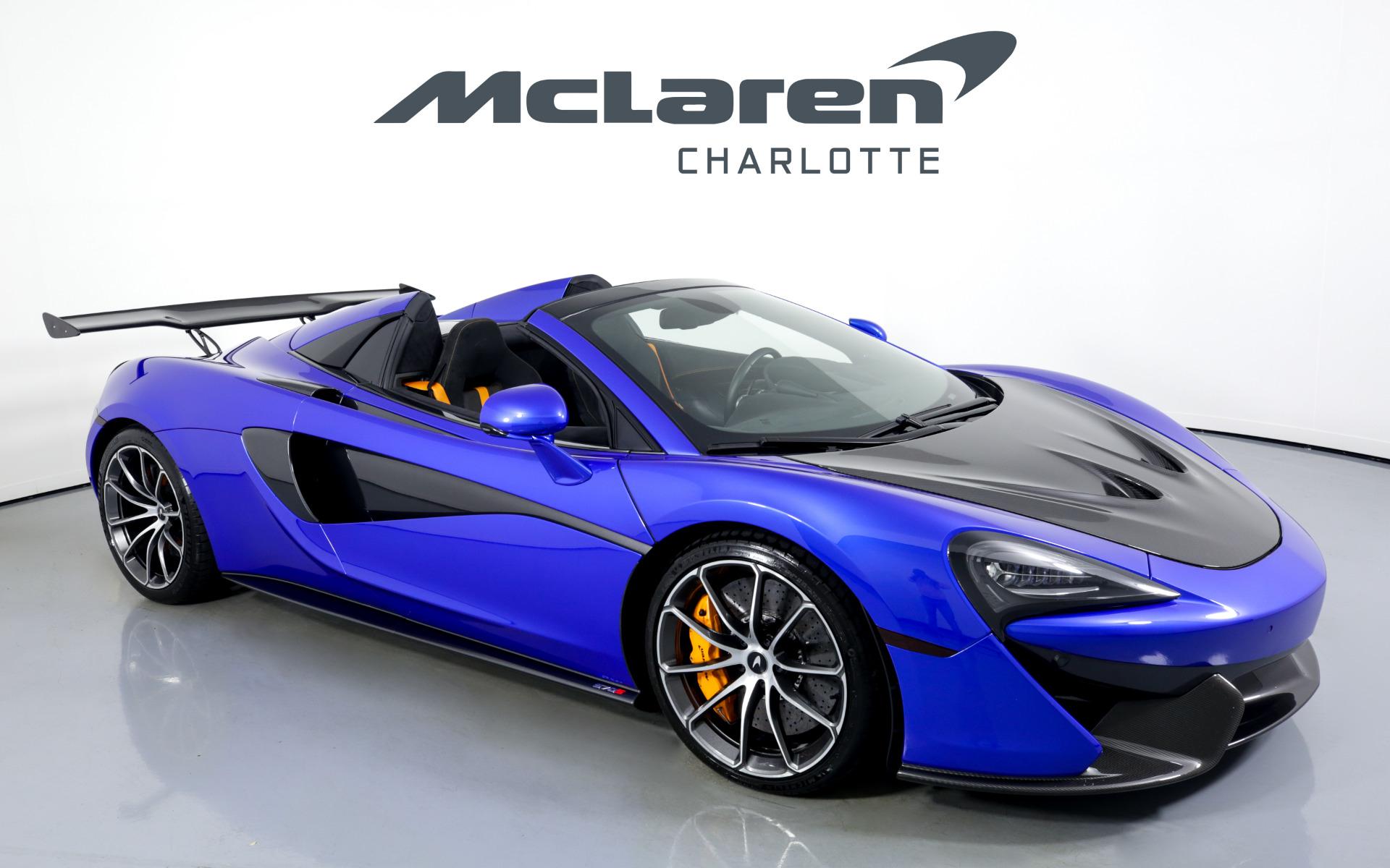 Used 2019 McLaren 570S Spider  | Charlotte, NC