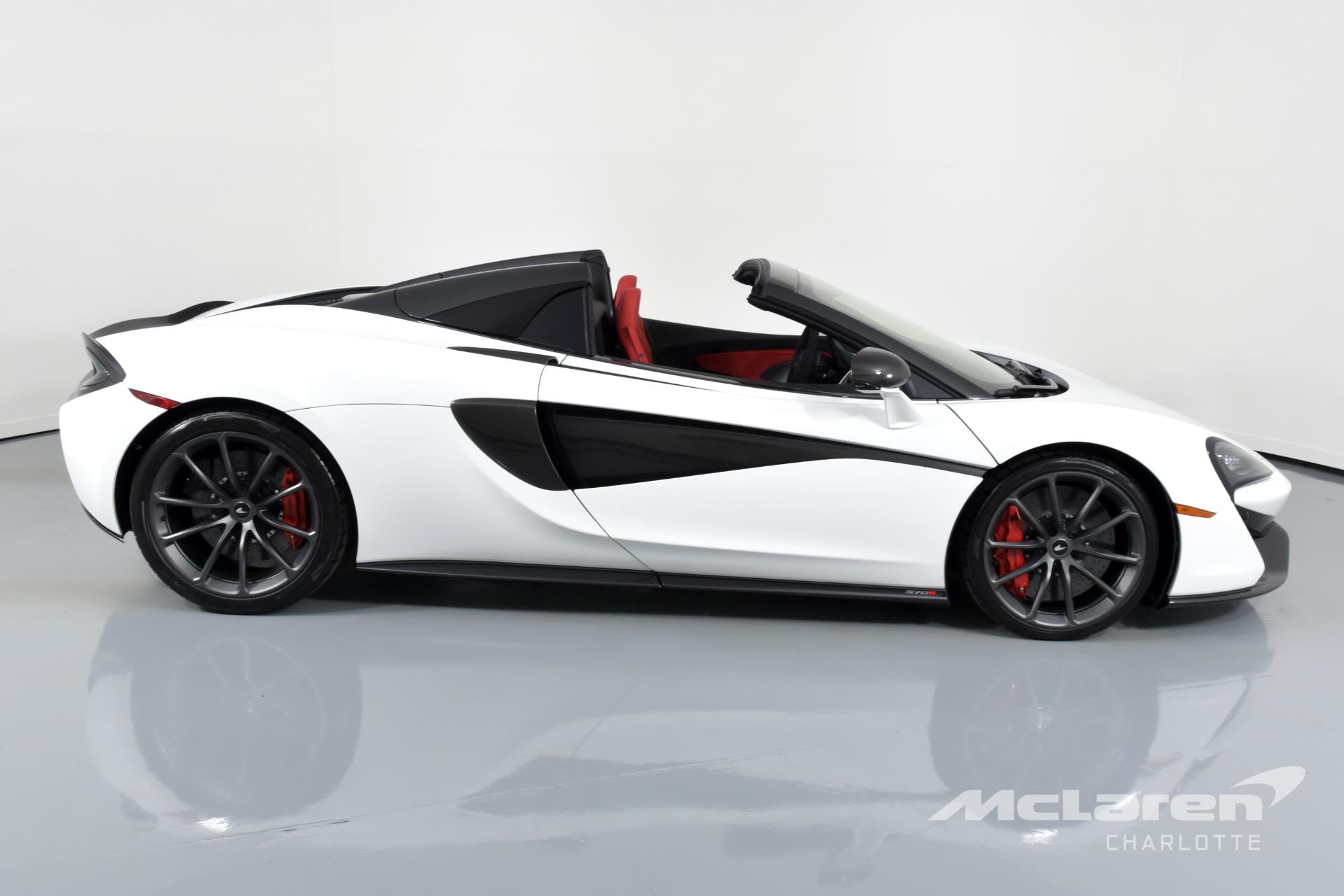 New 2019 McLaren 570S Spider  | Charlotte, NC