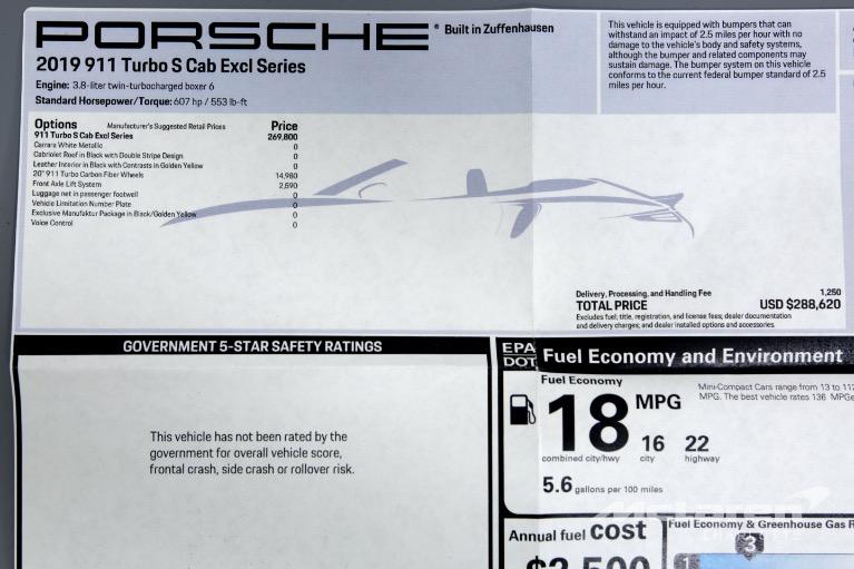 Used-2019-Porsche-911-Turbo-S-Exclusive