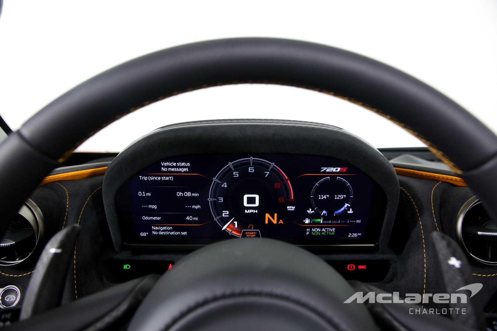 New 2020 McLaren 720S Spider Performance   Charlotte, NC