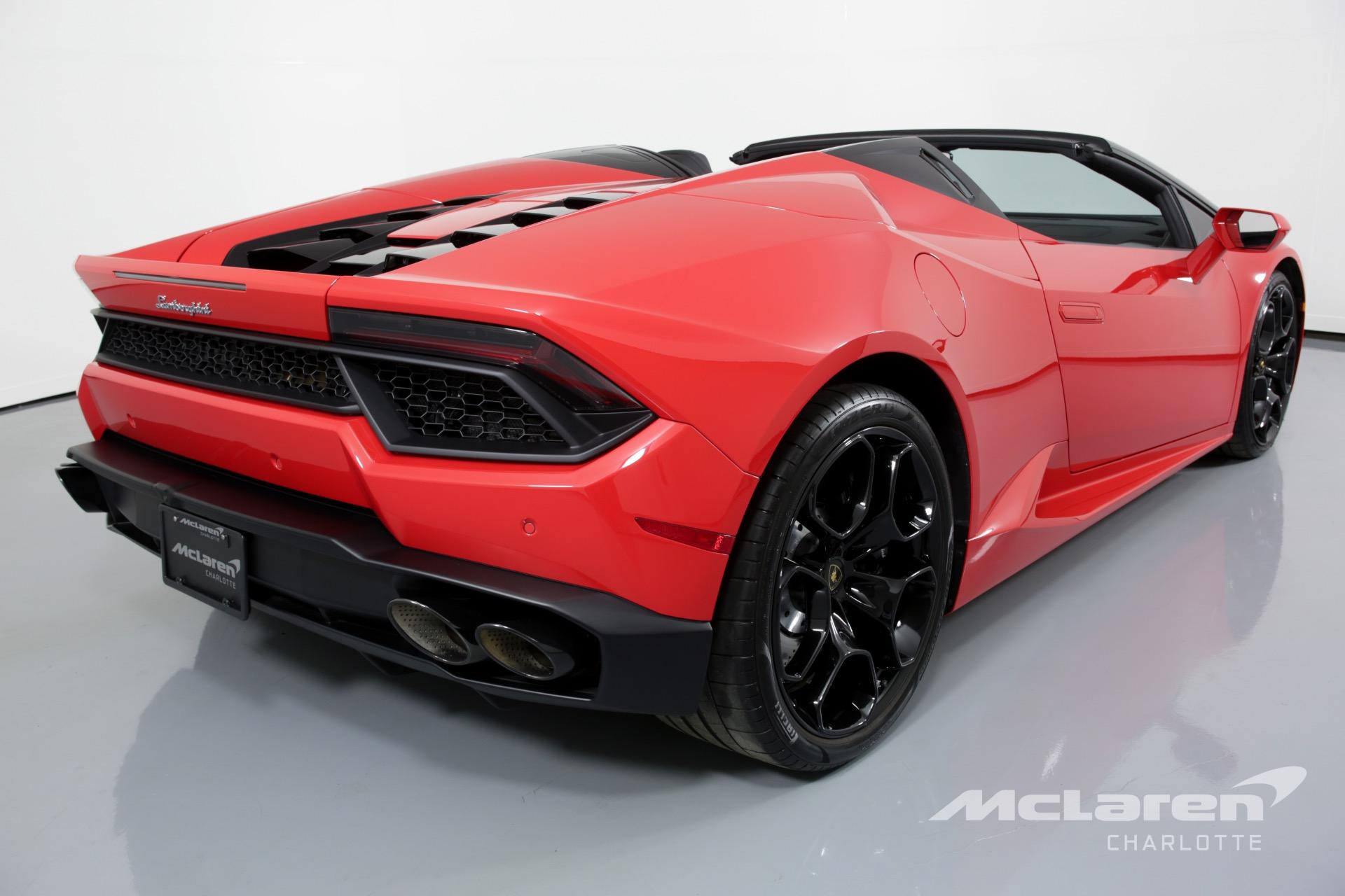 Used 2018 Lamborghini Huracan Lp 580 2 Spyder Charlotte Nc