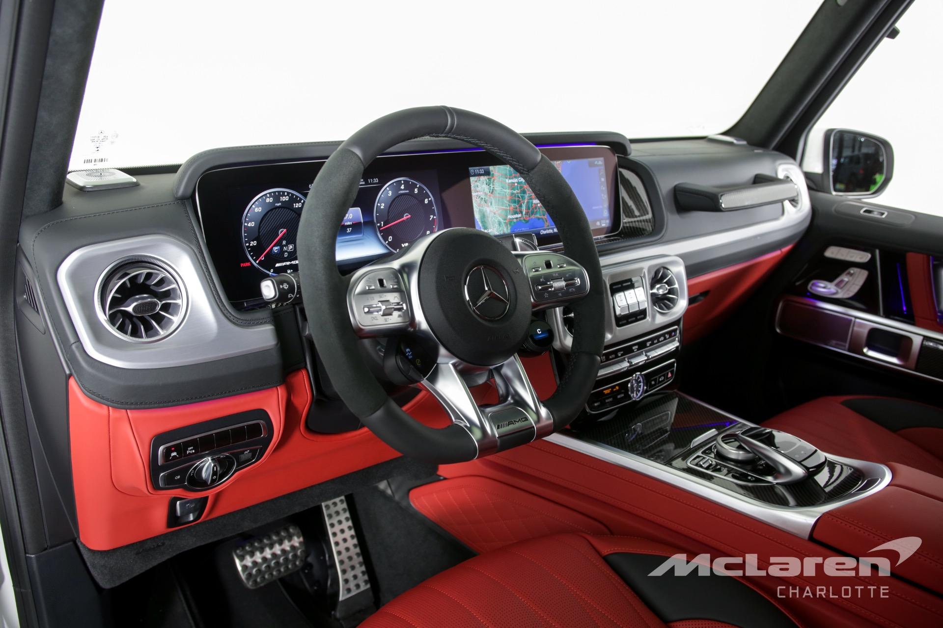 Red Interior Mercedes Benz G Class White Avtomobilnij