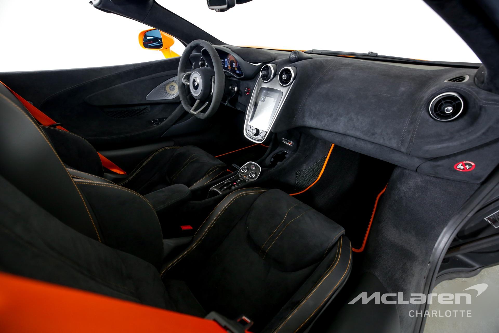 Used 2020 McLaren 600LT Spider Base   Charlotte, NC