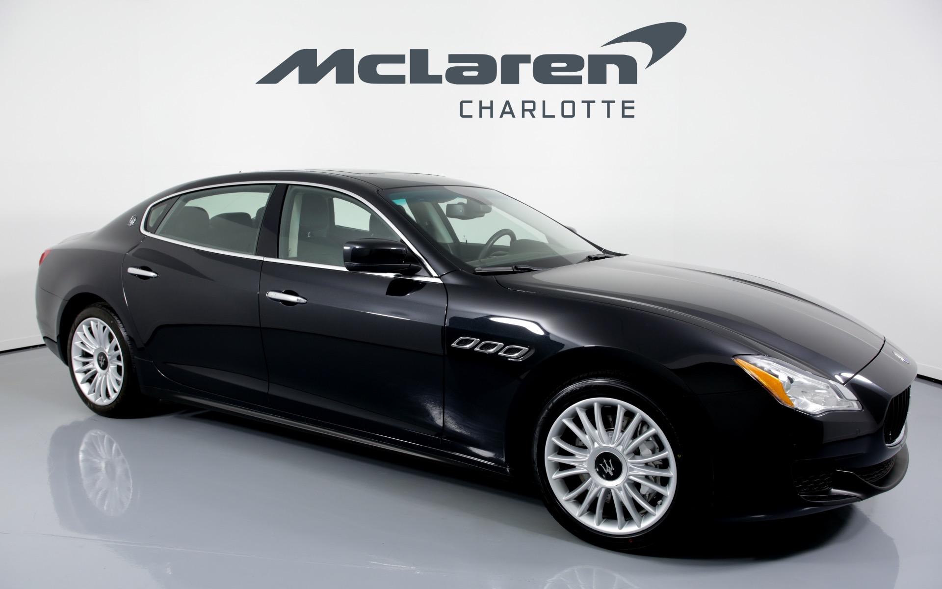 2014 Maserati Quattroporte >> Used 2014 Maserati Quattroporte S Q4 For Sale 34 996