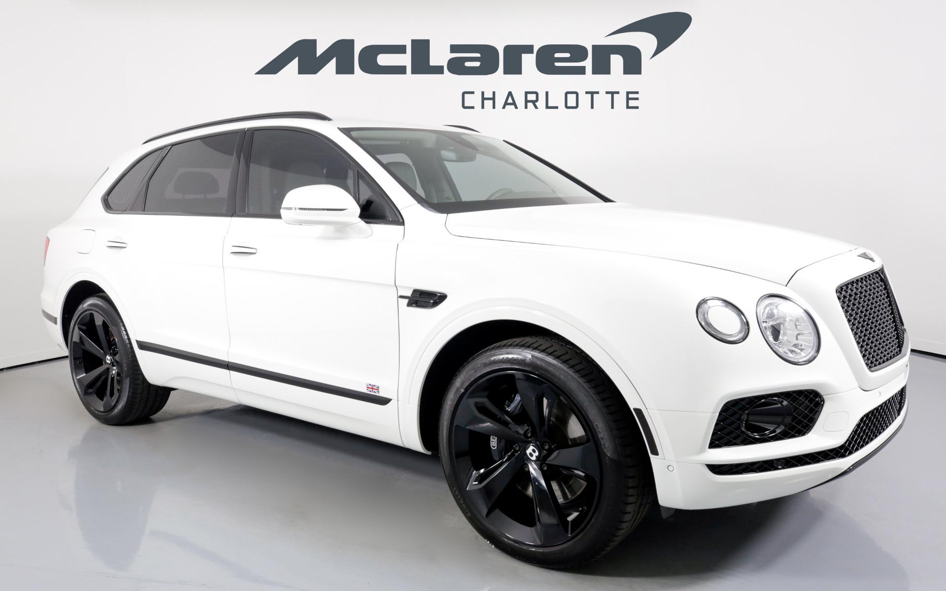 Used 2018 Bentley Bentayga Onyx Edition   Charlotte, NC