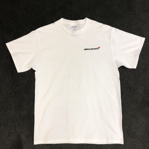McLaren Boston T-shirt with Embroidered Logo
