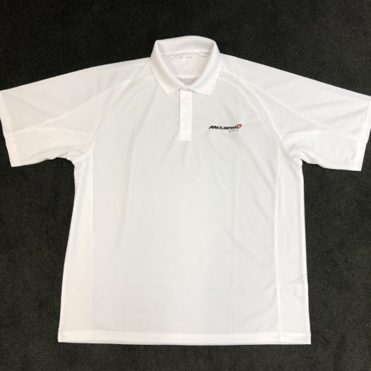 McLaren Boston Tech Polo with Embroidered Logo
