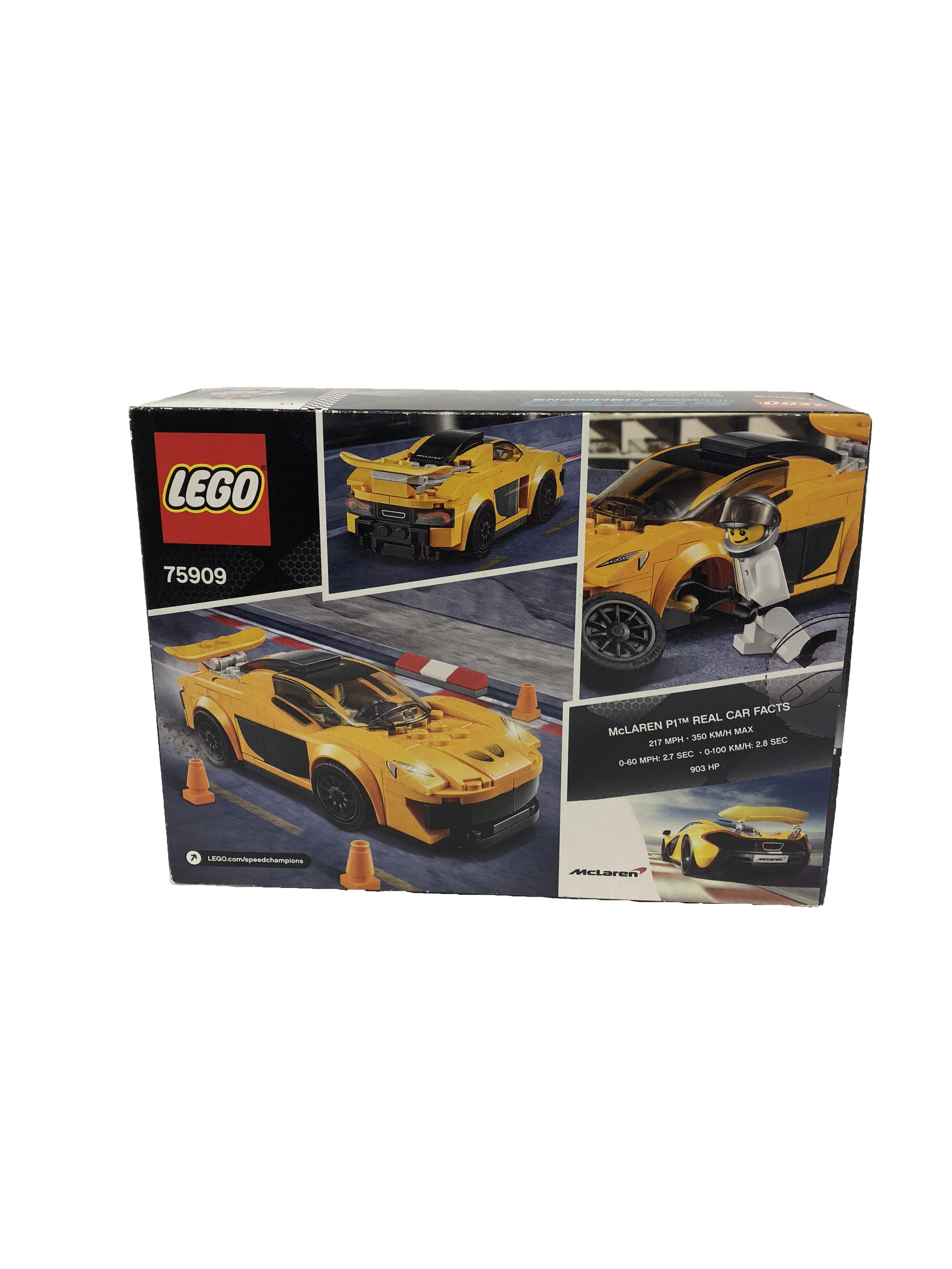 McLaren Official Lego P1 Set