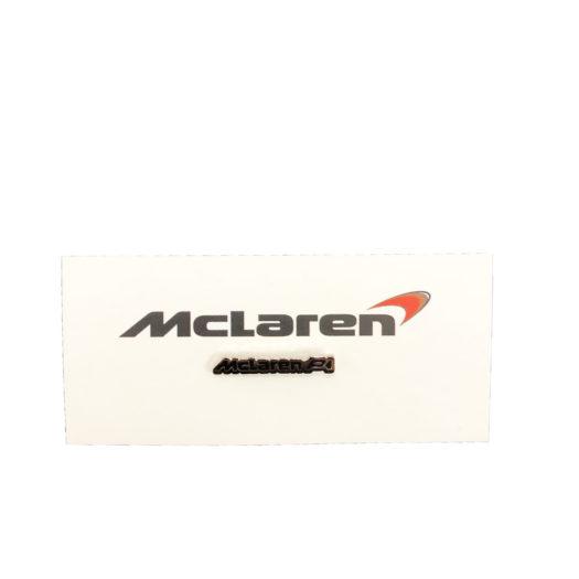 McLaren Official P1 Lapel Pin