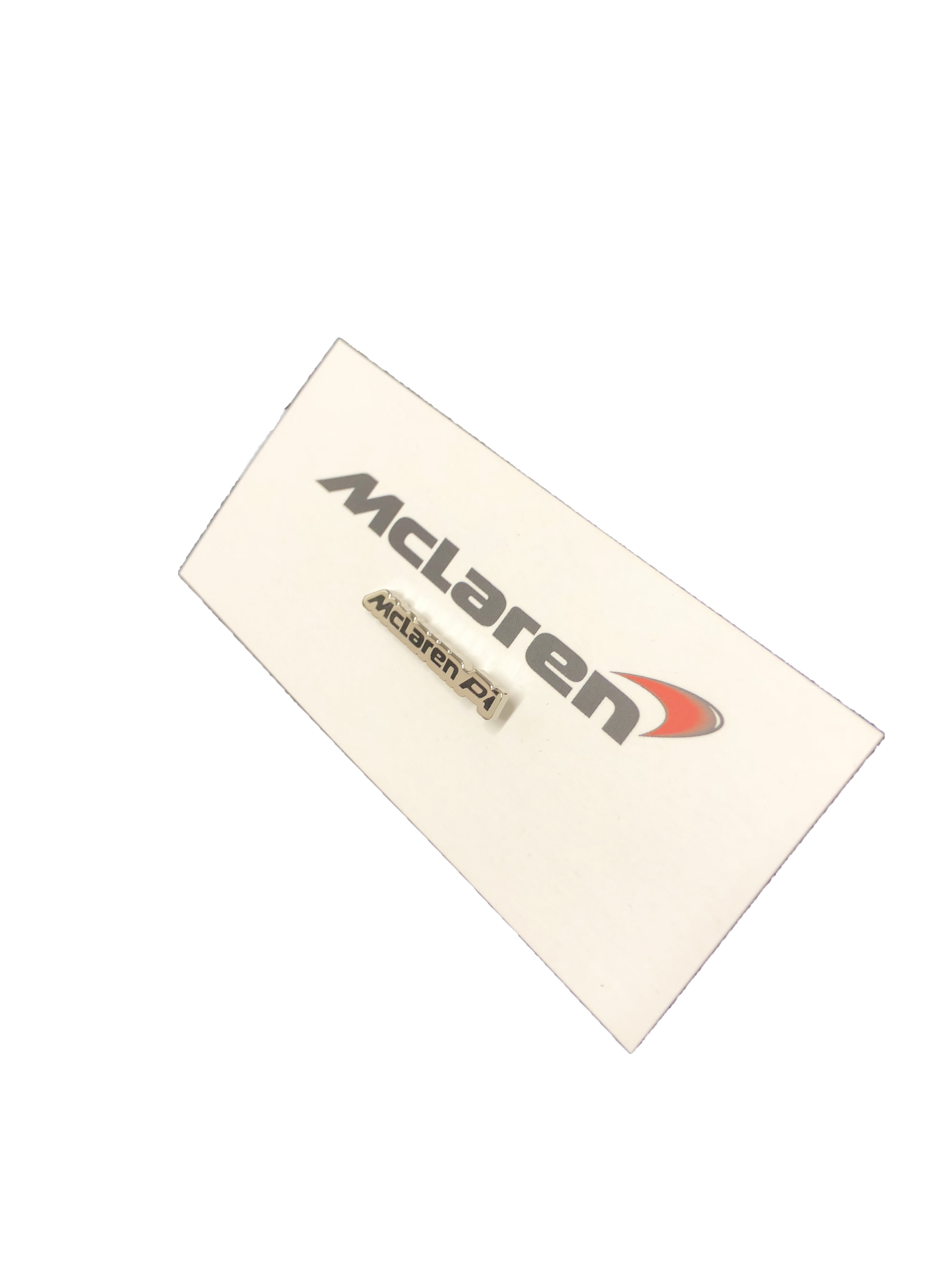 McLaren Official P1 Lapel Pin