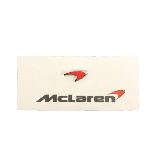 McLaren Official Red Speedmark Lapel Pin